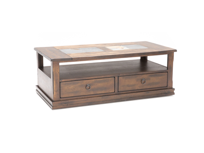 Santa Fe Slate Cocktail Table