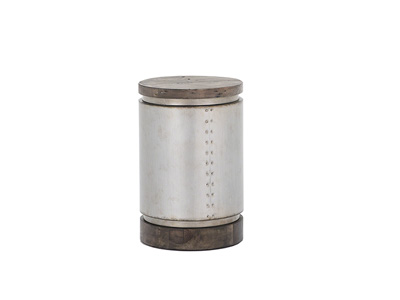 West End Drum End Table