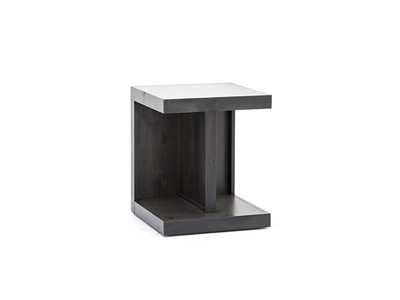 Avery Loft Ghost Black End Table