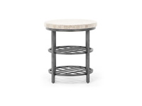 Capri Round End Table