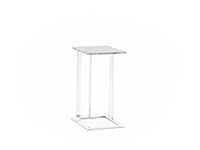Makayla Grey Marble End Table