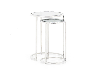 Makayla 2-pc. Round Nesting End Tables Set