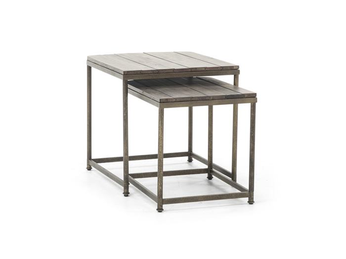 nesting end tables. Leone Nesting End Tables G