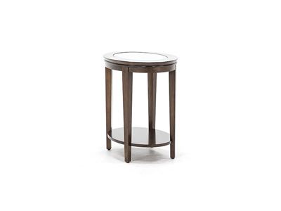 Aura Oval End Table