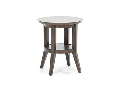 Ventura Boulevard Round End Table