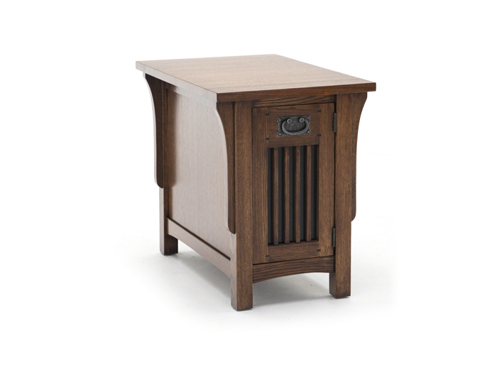 Arts and Crafts Chairside Table