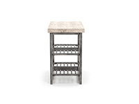 Capri Chairside Table