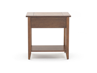 Mission Oak Chairside Table