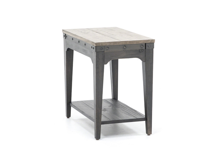 Plank Road Chairside Table