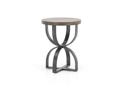 Bowden Round End Table
