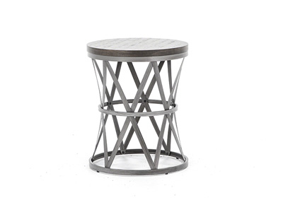 Sherwin Barrel End Table
