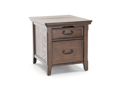 Woodboro Power End Table