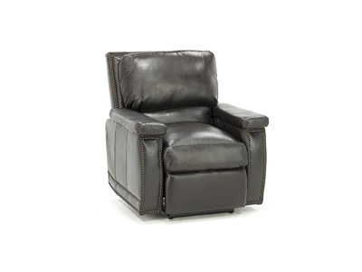 Ogden Leather Power Recliner