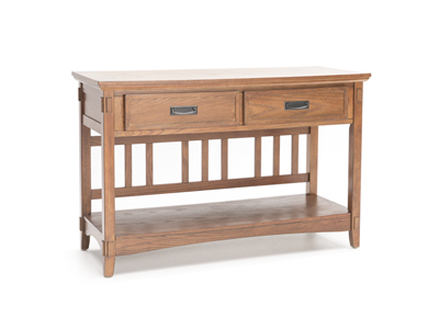 Cross Island Console Table