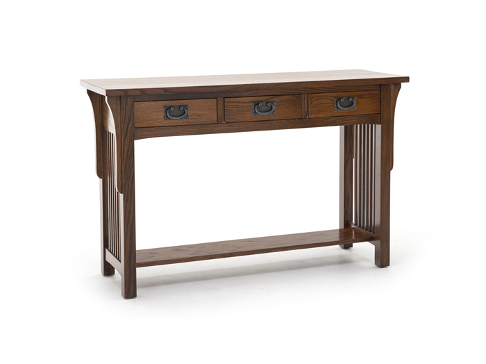 arts and crafts sofa console table steinhafels