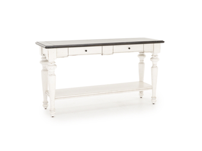 European Cottage Sofa Console Table