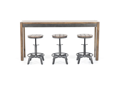 Torjin Console Bar Table Set