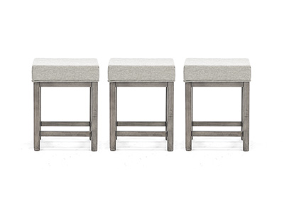 Tanners Creek 3pc Stool set