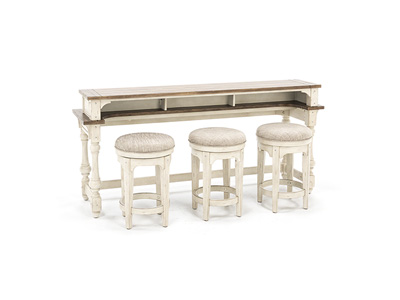Morgan Creek Console Bar Table Set