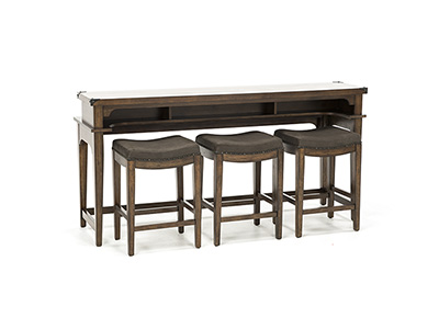Aspen Skies 4pc Console Bar Set