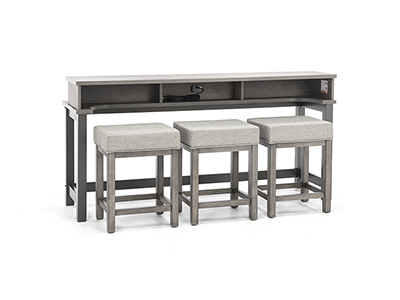 Tanners Creek 4pc Console Bar Set
