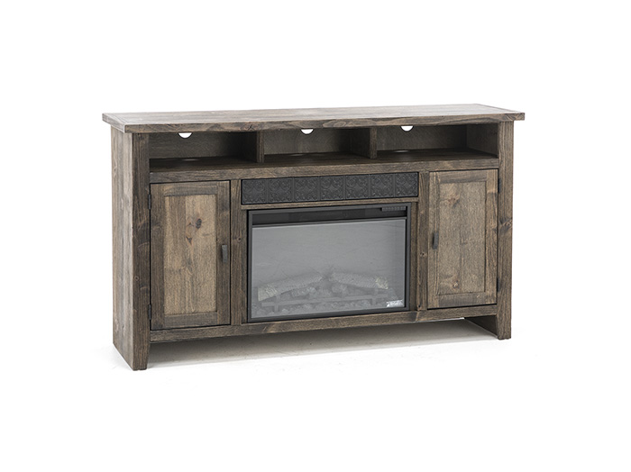 "Brindle 63"" Fireplace Console"