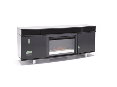 "Enterprise 72"" Glass Fireplace"