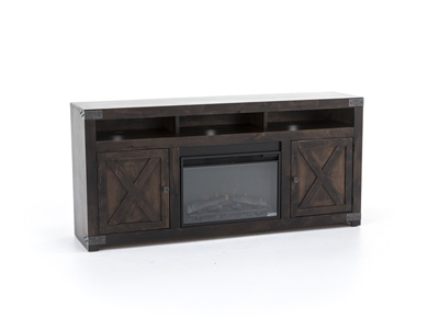 Urban Farmhouse Tobacco Fireplace