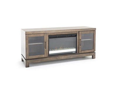 "Berkeley 64"" Glass Fireplace"