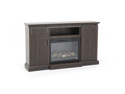 Barndoor Fireplace