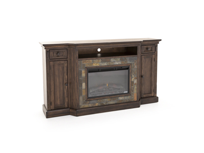 Savannah Fireplace and TV Console