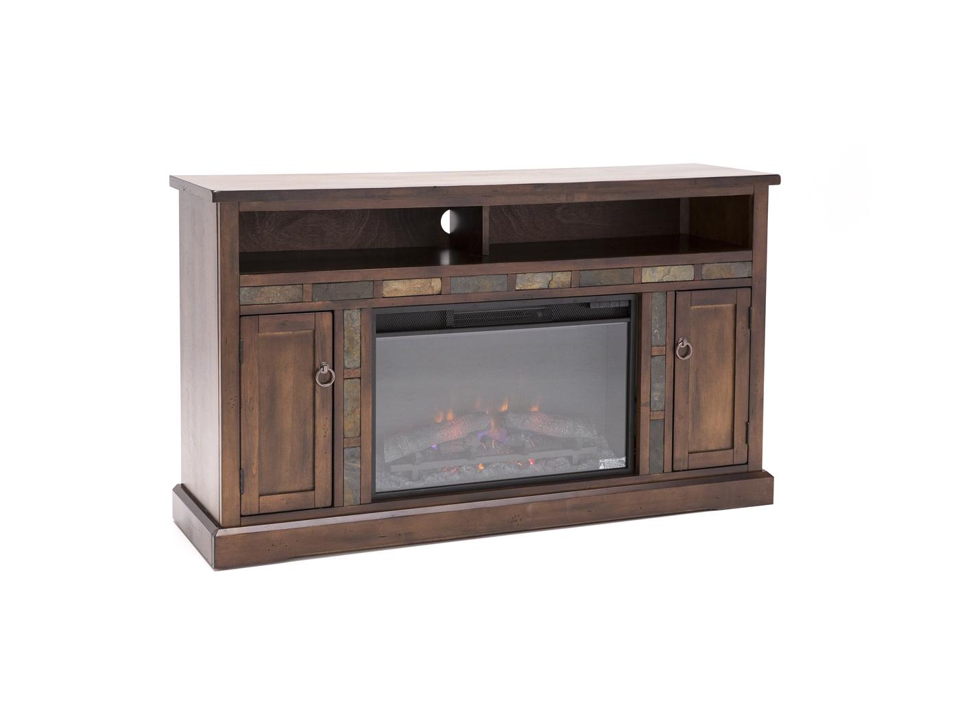 steinhafels santa fe fireplace
