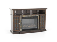 Cherry Lakeland Fireplace