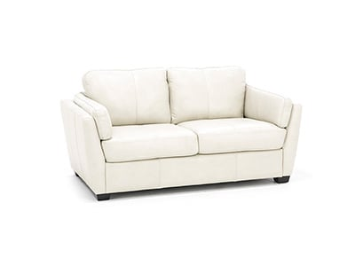 Reese Leather Loveseat