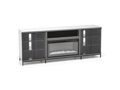 Fullerton Gray Fireplace