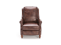 Direct Designs® Barstow Leather Hi-Leg Recliner