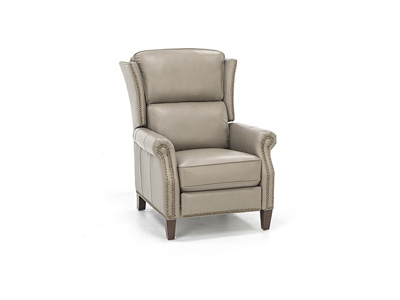 Genesis Leather Wing Recliner