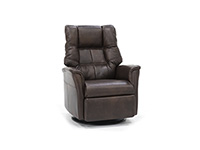 Direct Designs® Veronica Leather Large Swivel Glider Recliner