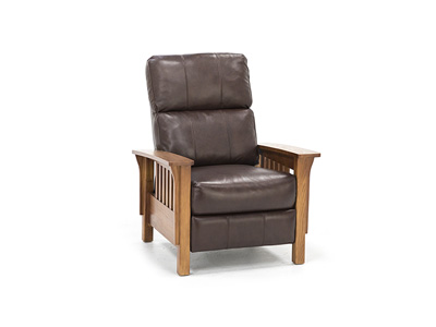 Direct Designs® Colton Leather Hi-Leg Recliner
