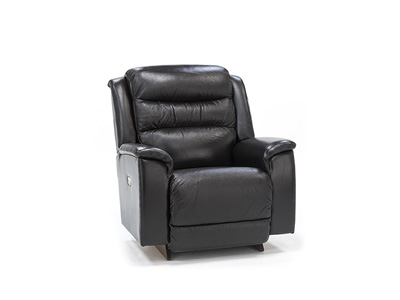 Troy Leather Power Recliner