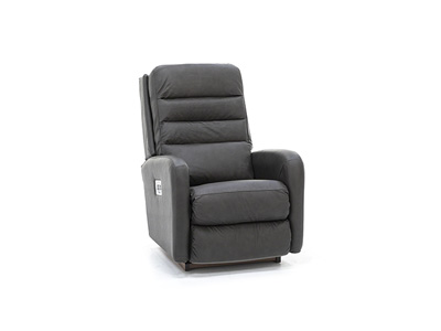 Forum Leather Fully Loaded Recliner with Wireless Remote