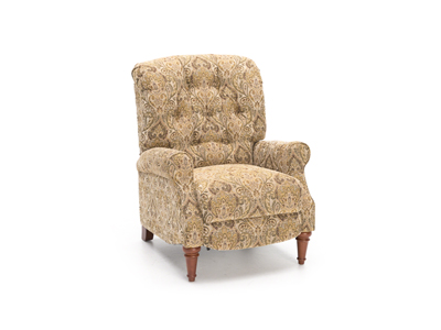 Direct Designs® Empress Hi-Leg Recliner Fawn