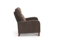 Landis Hi-Leg Recliner Chocolate