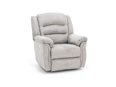 Max Lay-Flat Recliner with Power Headrest