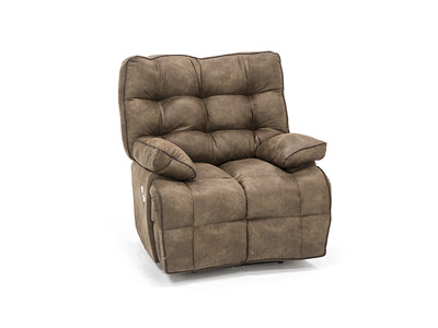 Lucroy Tan Power Layflat Recliner
