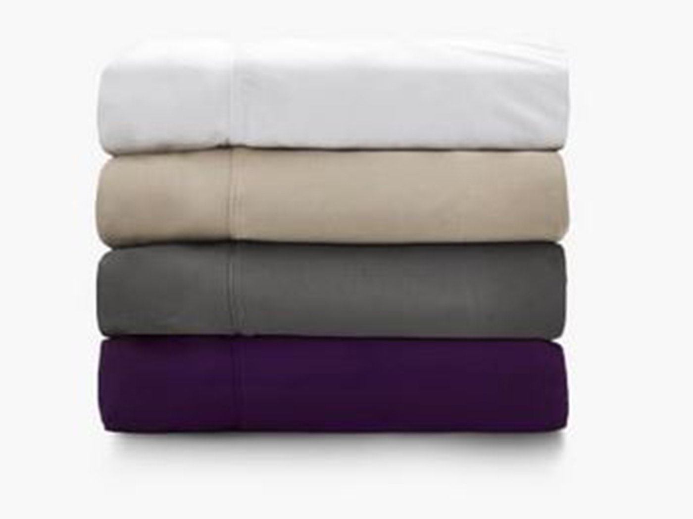 The Purple Twin/Twin XL Sheet-White