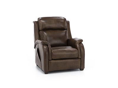 Armstrong Leather Power Headrest Zero Gravity Recliner