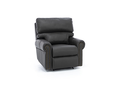 Design and Recline Connor Leather Power Recliner