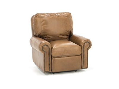 Cedar City Leather Power Recliner