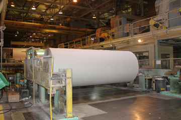 HUGE ROLL OF PAPER